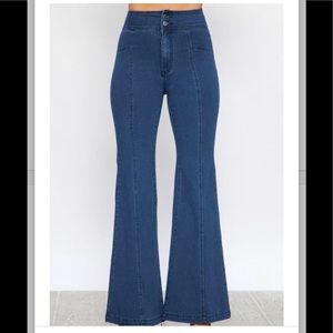Denim - Wide Leg Jeans